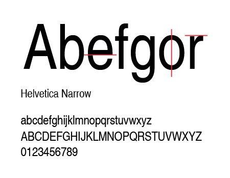 Helvetica_narrow_palo seco neogrotescas