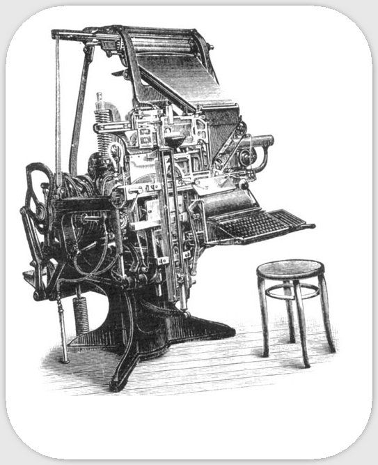 Linotipia de Mergenthaler