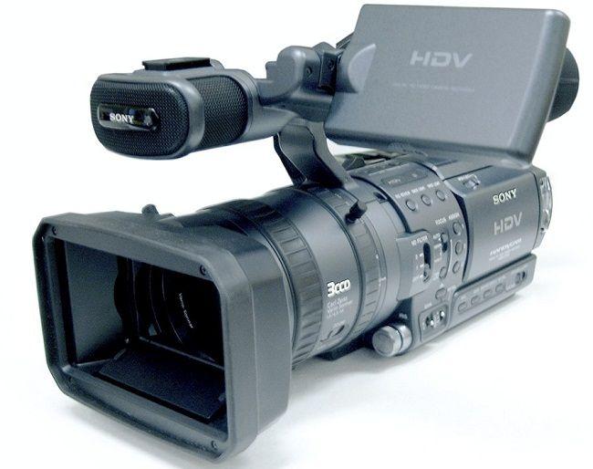 dispositivos de digitalizacion cámara de video