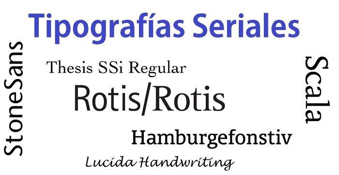 caracteristicas familias tipograficas seriales laprestampa.wordpress