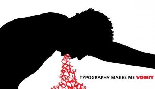 la composicion de tipografias me hace vomitar diseño tipografico creativo