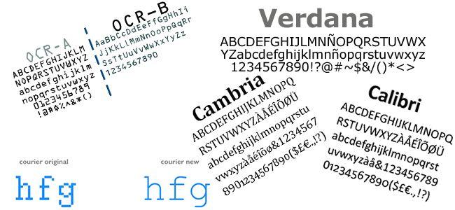 ejemplo de tipografías informáticas_laprestampa