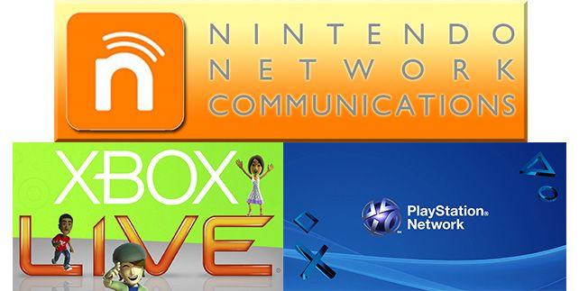 nintendo network, xbox live y playstation network - solucion a la pirateria en videojuegos - laprestampa