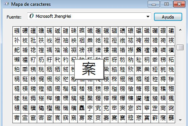 ideogramas como alfabeto_fuentes pi