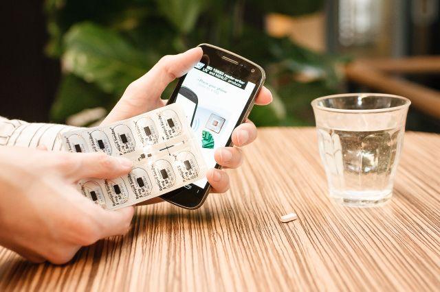 smart packaging para pastillas
