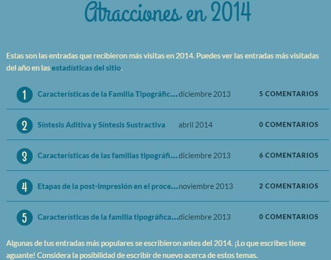 top 5 visitas entradas_laprestampa_2014