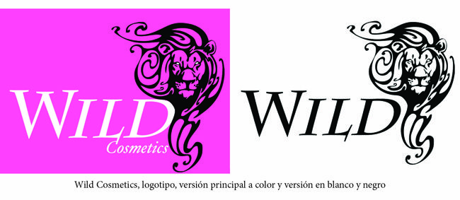 creacion de logotipo_versión a color y versión a blanco y negro_wild