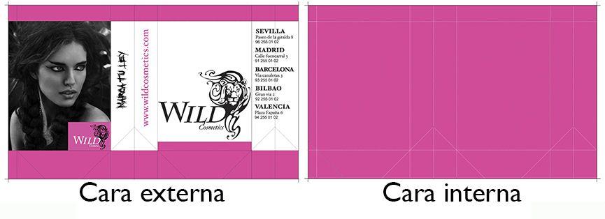 Diseño de una bolsa cosmetica_wild cosmetics_diseño estructural y grafico