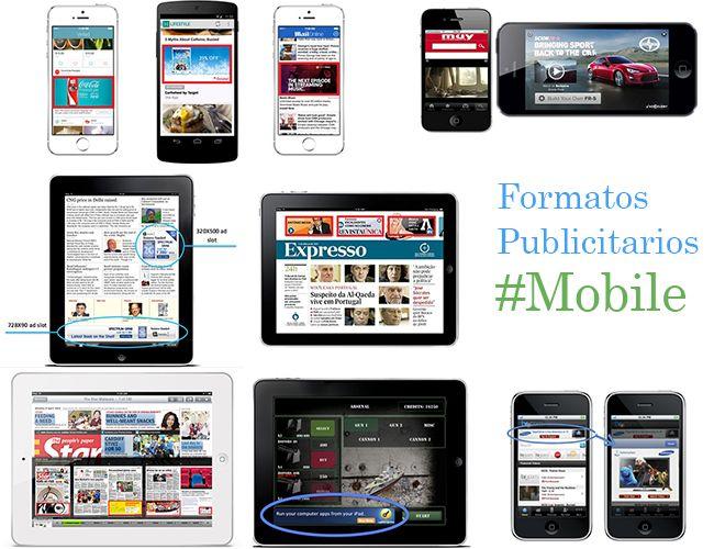 Formatos publicitarios del mobile