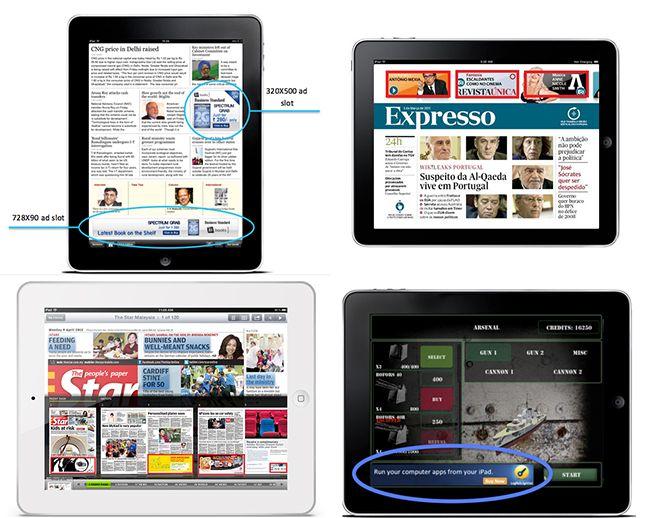 formatos publicitarios mobile en tablets_ejemplo de banners en tablet