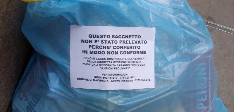 En italia hay multas por no reciclar