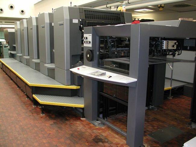 sistemas impresión offset húmedo