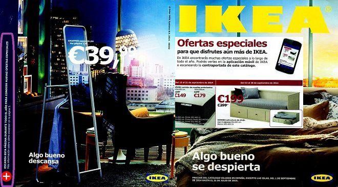 posibilidades del papel con qr o clickable paper_ejemplo catalogo ikea