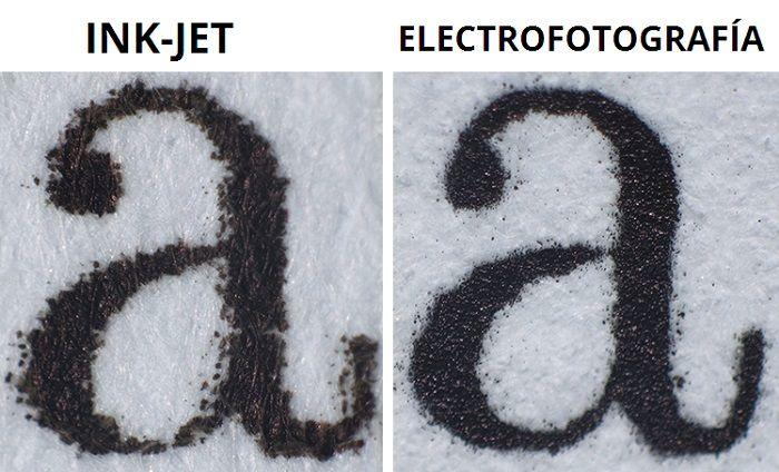 CTPrint diferenciar electrofotografia e inkjet