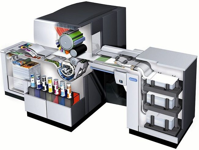 Ejemplo de HP Inkjet webpress: Indigo 5000