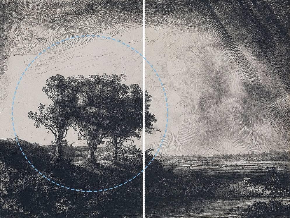 ejemplo de densidad visual rembrandt