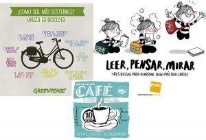 fnac, accion contra el hambre, greenpeace