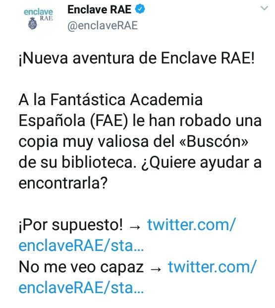 twitter, enclave rae, buscon