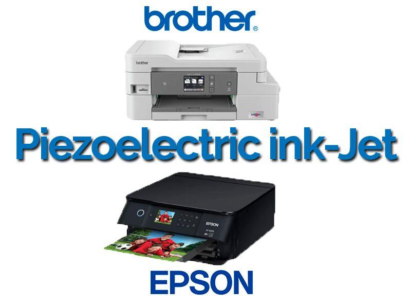 epson y brother, multifuncion, piezoelectrica