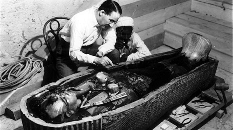 Howard Carter, Tutankamón