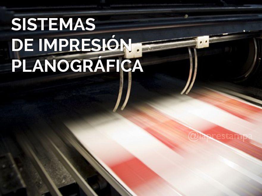 impresión planográfica, impresión, offset