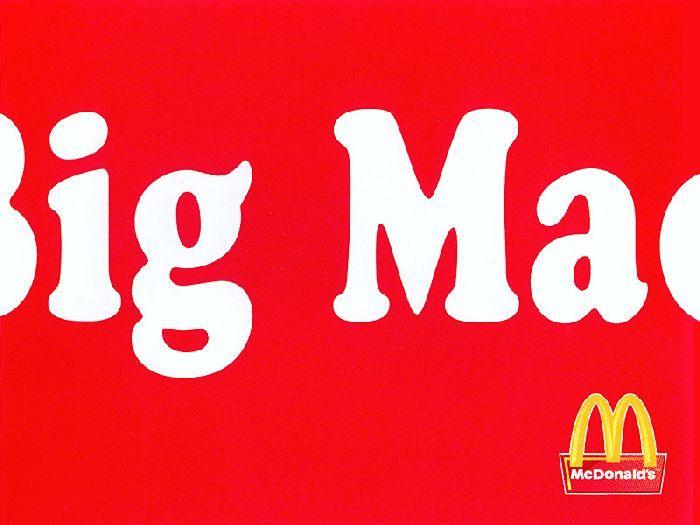 diseño, jerarquía, big mac