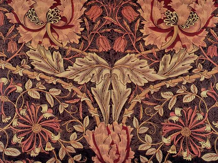 william morris, madreselva