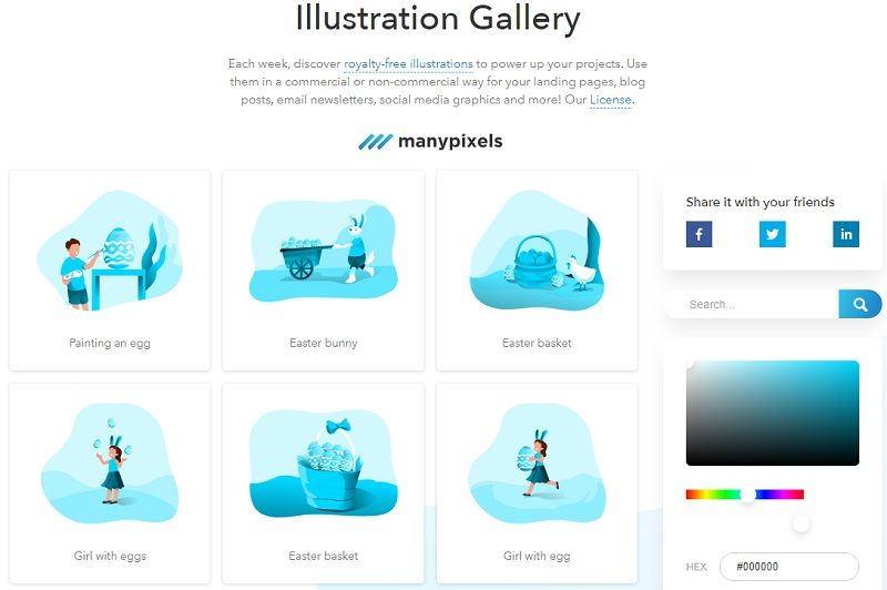 manypixels, gallery